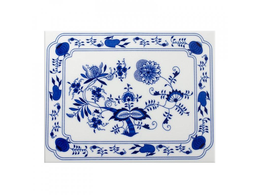 Podložka pod hrnec - originál cibulákový porcelán 2.jakost 80669