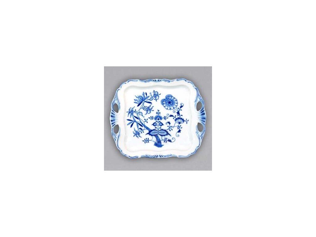 Podnos Aida čtvercový - cibulový porcelán 10976