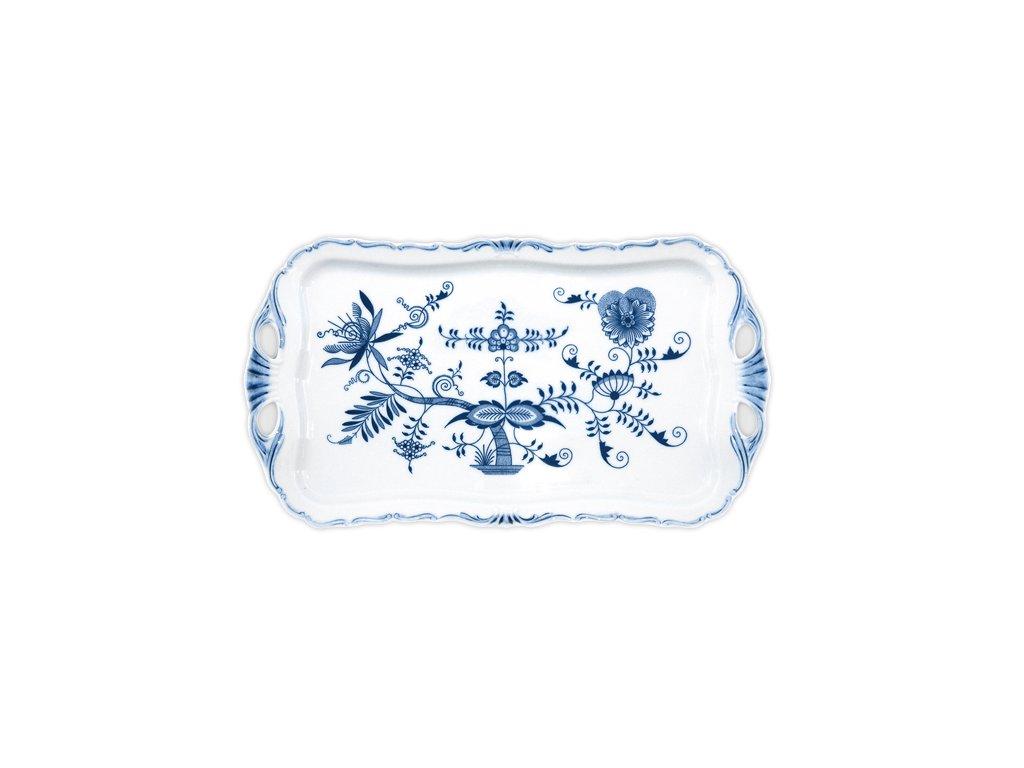 Podnos Aida obdélníkový - cibulový porcelán 10974