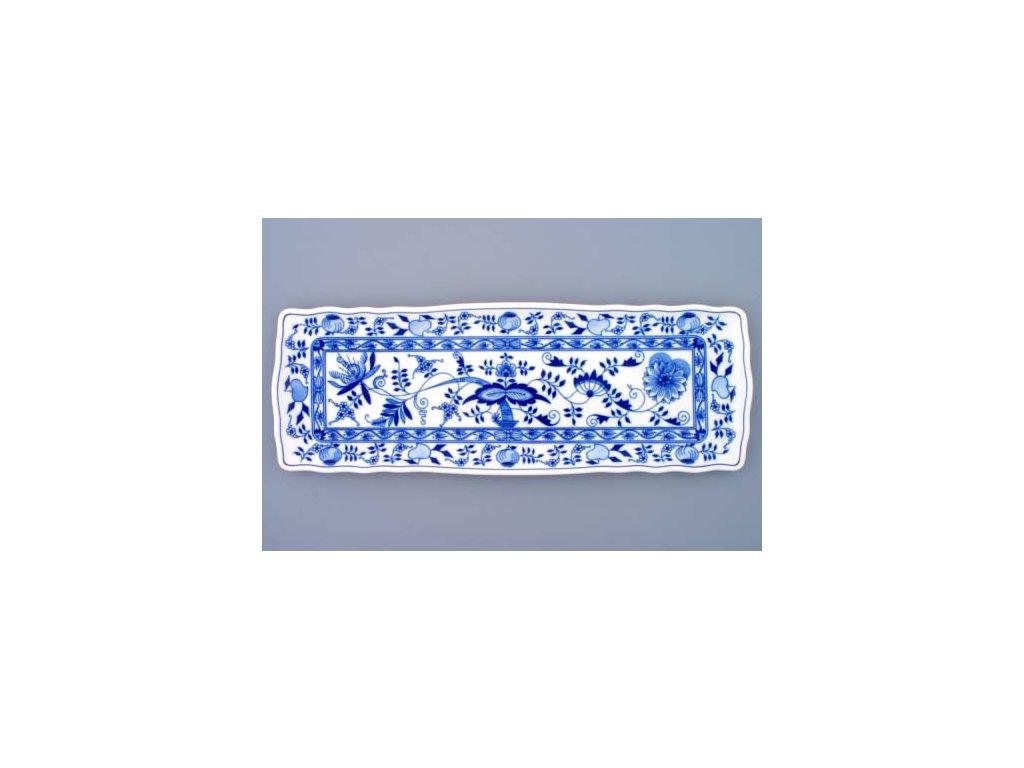 Podnos čtyřhranný - cibulový porcelán 10090