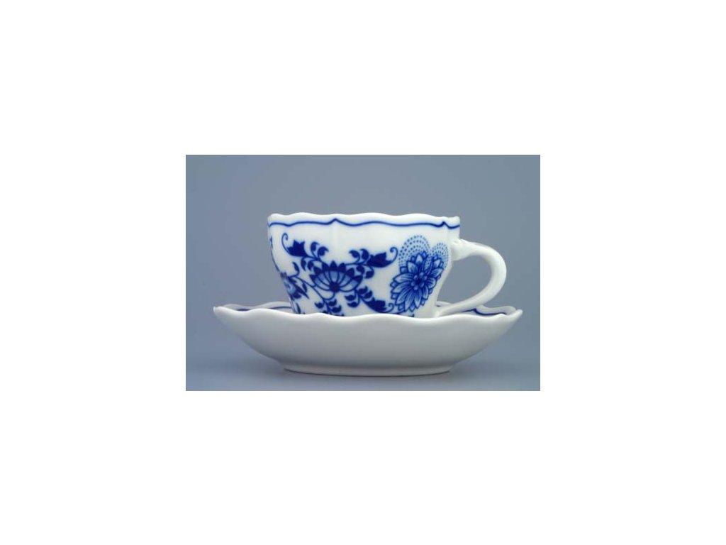 Šálek s podšálkem A/1+A/1 - cibulový porcelán 70227