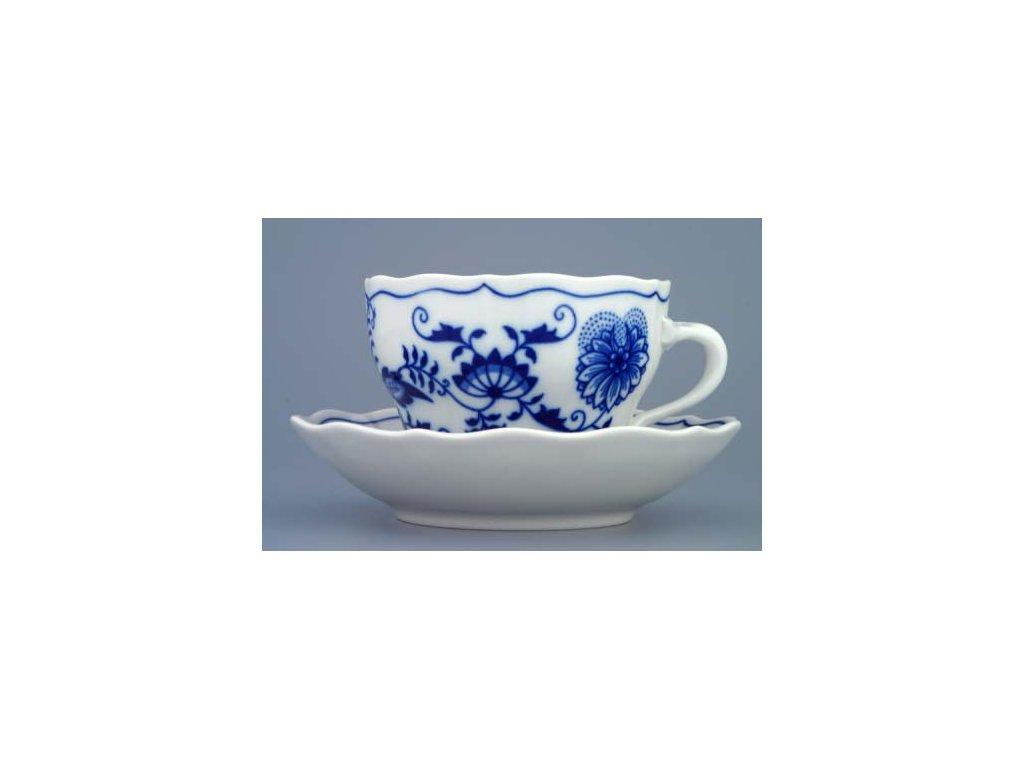 Šálek s podšálkem B+B - cibulový porcelán 70228