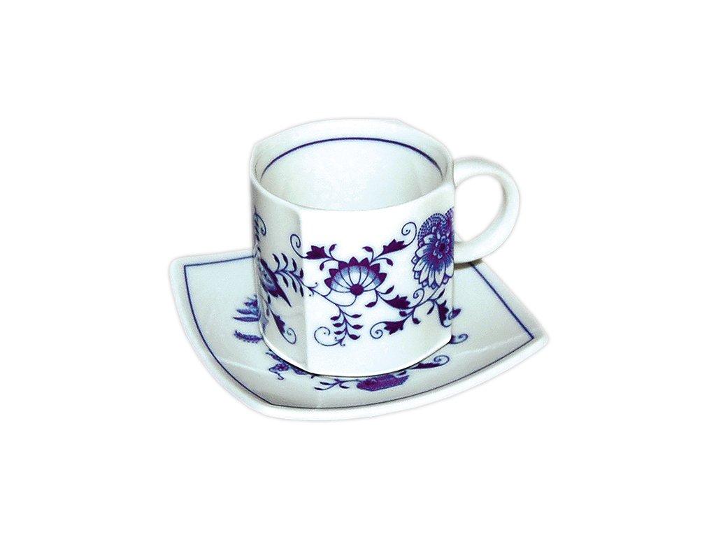 Šálek s podšálkem Vito - cibulový porcelán 70698