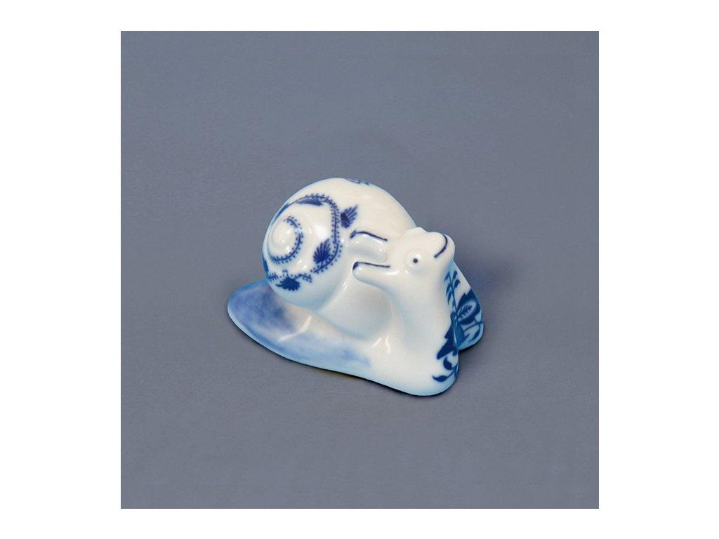 Šnek - cibulový porcelán 00441-601
