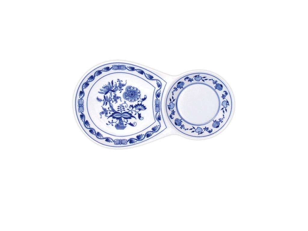 Snídaňový tácek - cibulový porcelán 10585
