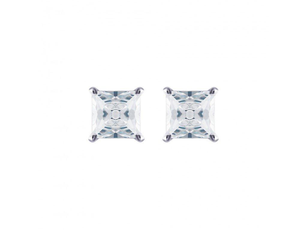 Stříbrné náušnice Elena s kubickou zirkonií Preciosa