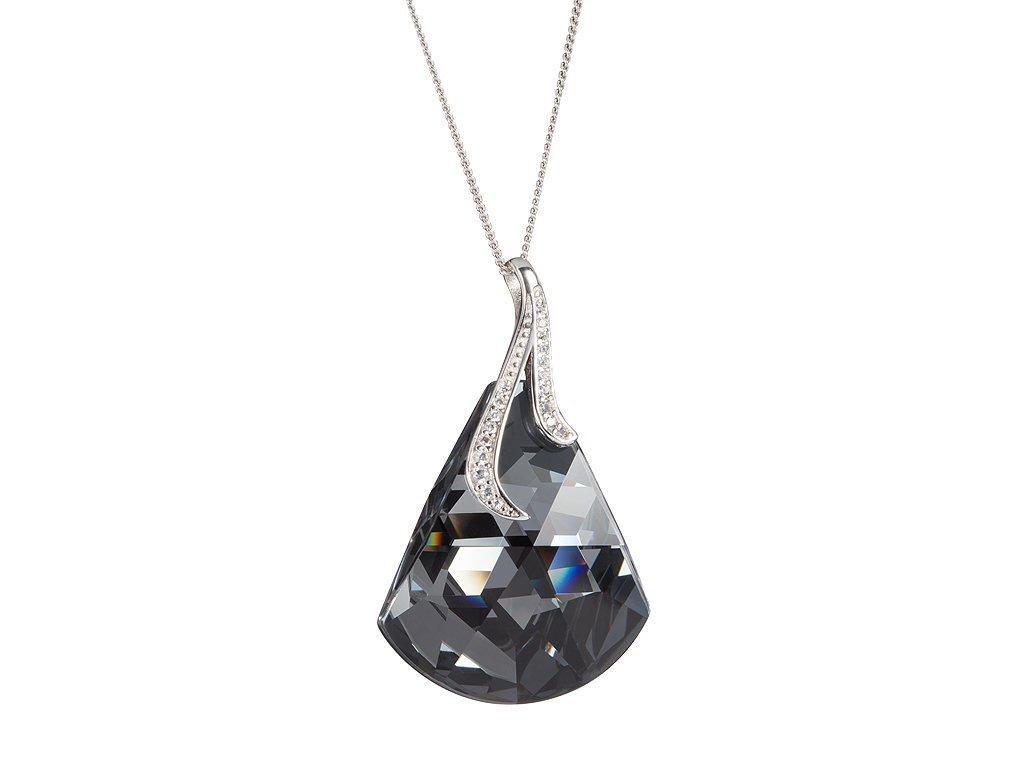 Stříbrný přívěsek Crystal Bell s českým křišťálem Preciosa