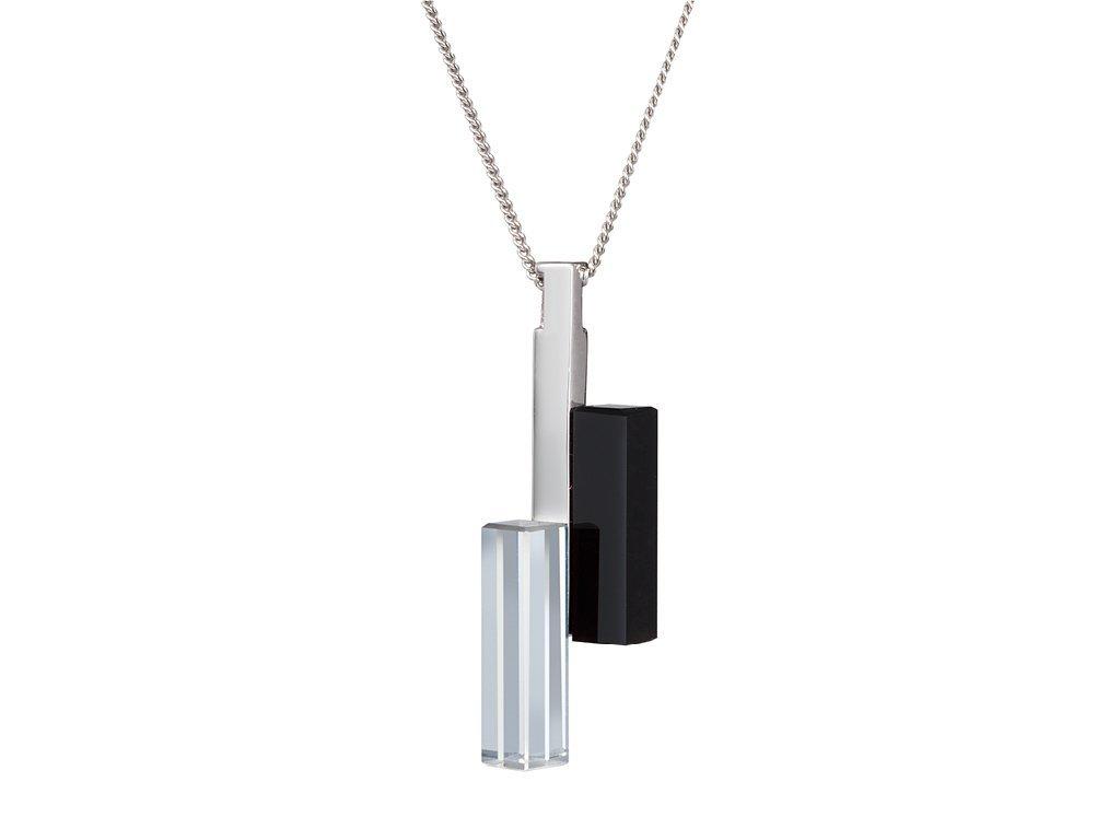 Stříbrný přívěsek Fresh Style s českým křišťálem Preciosa - krystal