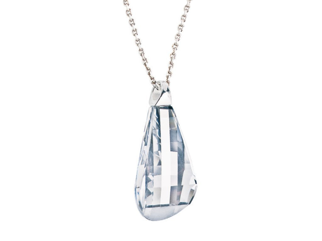 Stříbrný přívěsek Pleione s českým křišťálem Preciosa - krystal