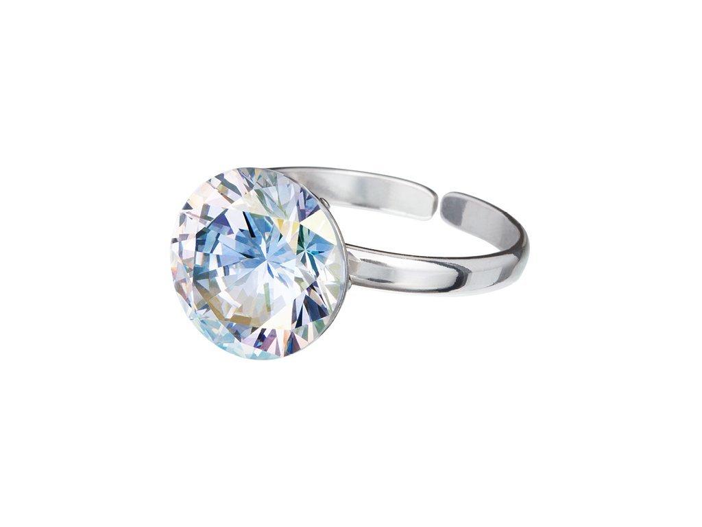 Stříbrný prsten Starry s kubickou zirkonií Preciosa - krystal AB