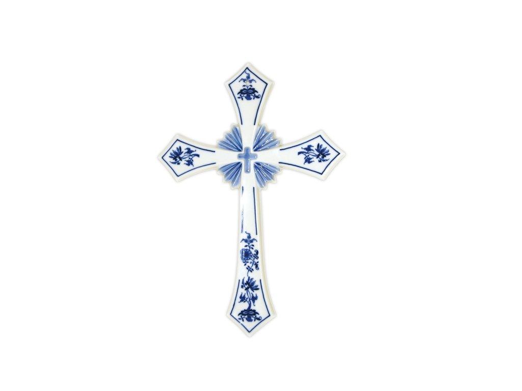 Svatý kříž - cibulový porcelán 10638