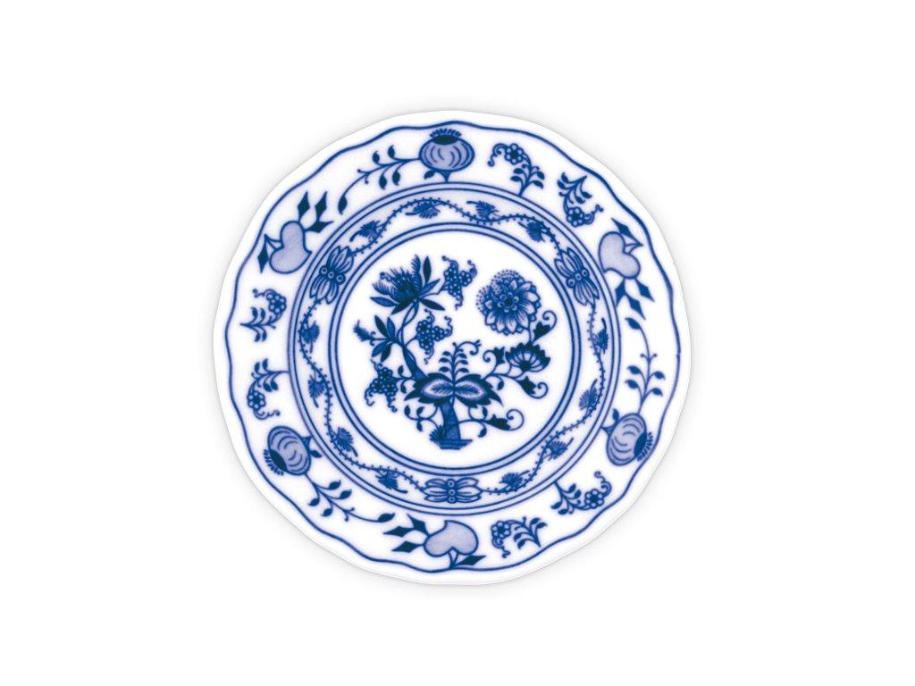 Talíř dezertní praporový 19cm - cibulový porcelán 10009