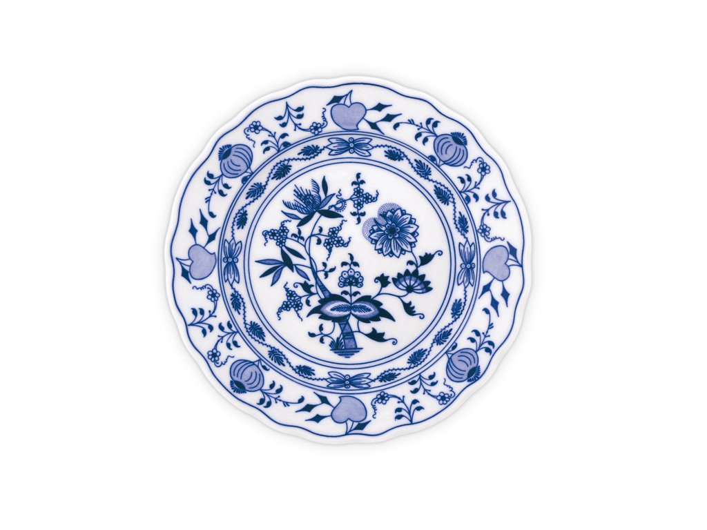 Talíř mělký praporový 26cm - cibulový porcelán 10005