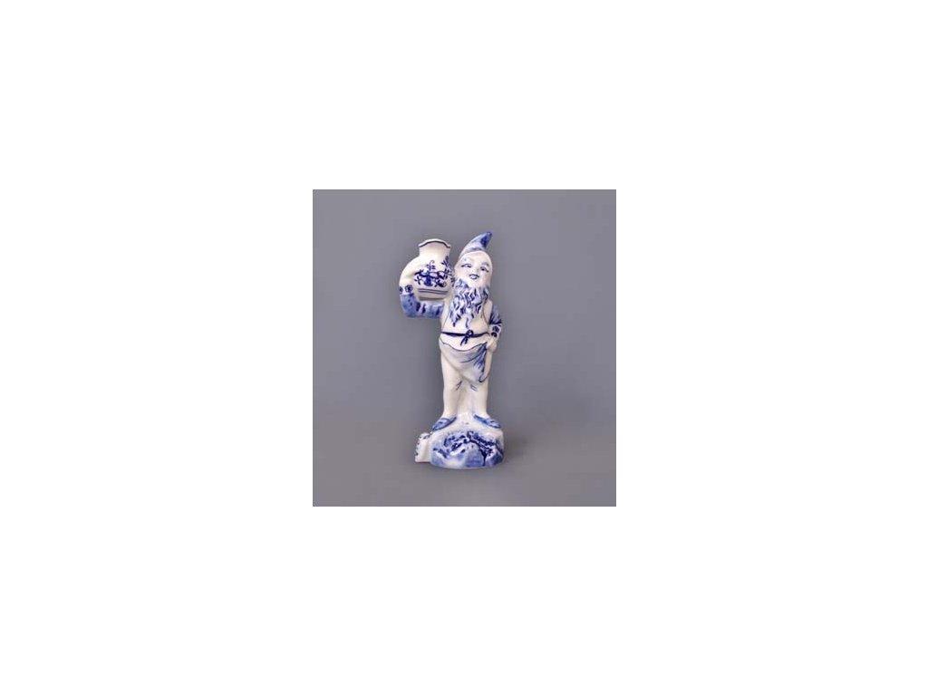 Trpaslík domácí Jaroslav - cibulový porcelán 10082