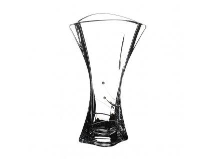 Skleněná váza Orbit 315 mm Swarovski