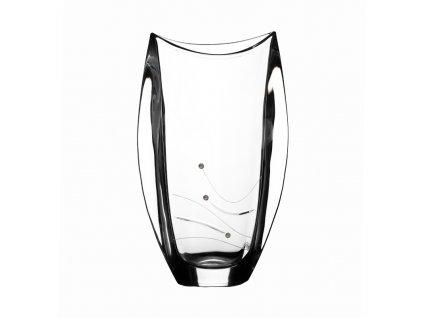 Skleněná váza Orbit 305 mm Swarovski
