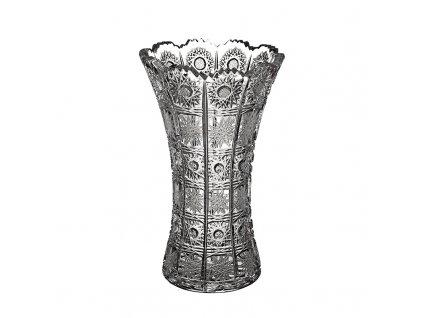 Broušená váza X 80029/255mm. Klasický brus 500 PK.