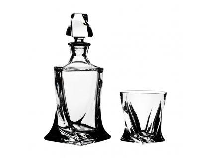 Set na whisky Quadro 6+1