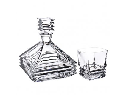 Crystal Bohemia MARIA whisky set 6+1