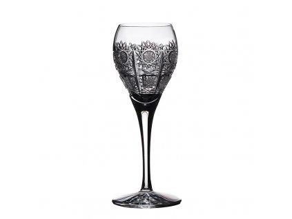 Broušené sklenice Fiona na likér. 6 ks. Brus klasik 500 PK.