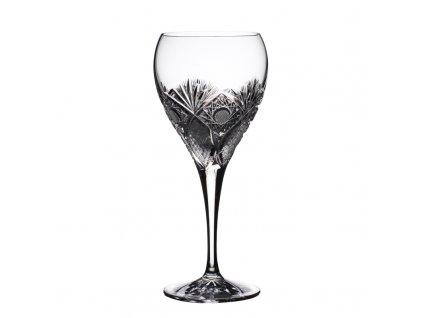 Broušené sklenice Fiona na červené víno. 6 ks. Brus Paříž.