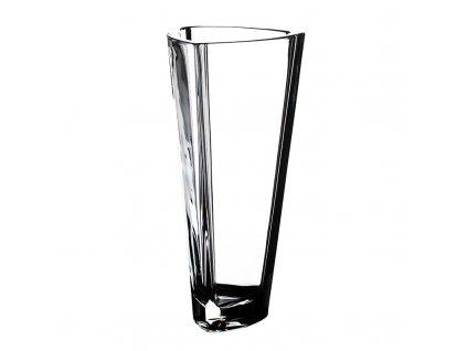 Skleněná váza Triangle 330 mm