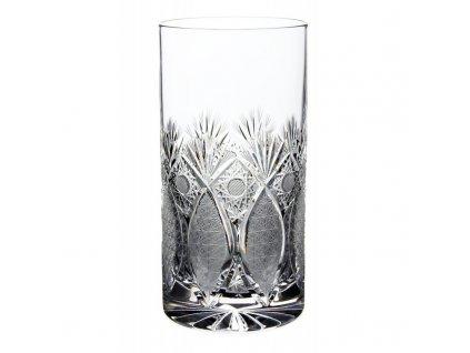 Broušené sklenice na long drink. 6 ks. Brus Paříž.