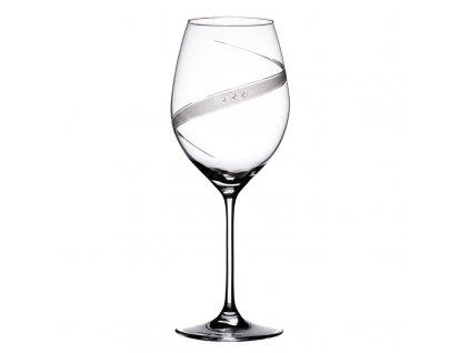 Sklenice na červené víno Line exclusive - 6 ks. Swarovski