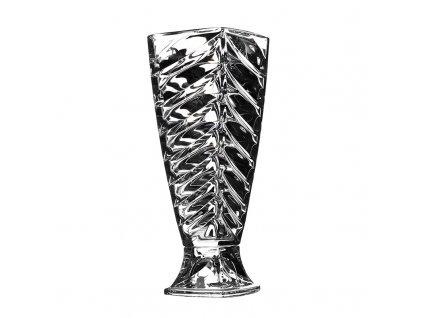 Skleněná váza Facet 375 mm