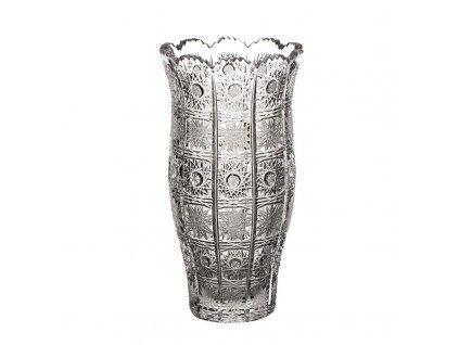 Broušená váza 88003/205mm . Klasický brus 500 PK.