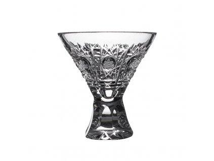 Broušené sklenice na likér, vaječný koňak. 6 ks. Brus klasik 500 PK.