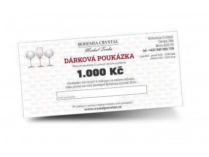Dárkový poukaz na 1000 Kč