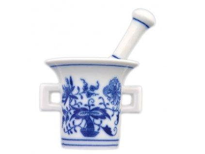 Hmoždíř mini - komplet - cibulový porcelán 70252