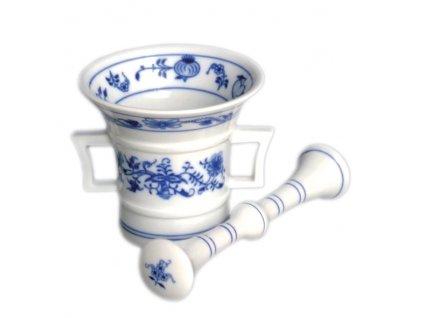 Hmoždíř s tloukem - cibulový porcelán 70626