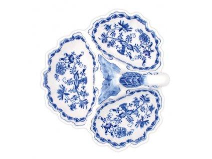 Kabaret 3-dílný - cibulový porcelán 10130