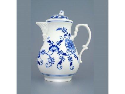 Konvice kávová s víčkem 0,9 l - cibulový porcelán 70024