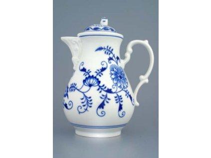 Konvice kávová s víčkem 1,55 l - cibulový porcelán 70025