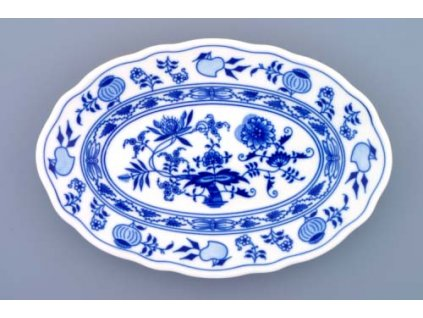 Mísa oválná 24cm - cibulový porcelán 10067