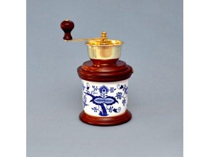 Mlýnek na kávu vařák - cibulový porcelán