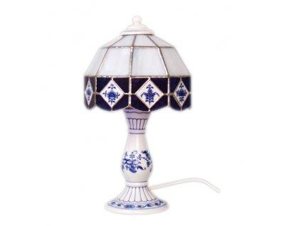 Noční lampička - vitráž - cibulový porcelán 70557