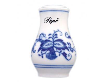 Pepřenka sypací s nápisem Pepř - cibulový porcelán 10113