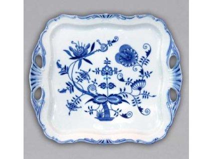Podnos Aida čtvercový - cibulový porcelán 10978