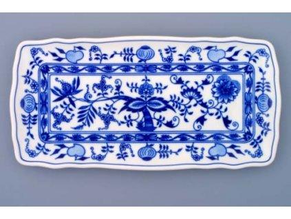 Podnos čtyřhranný - cibulový porcelán 10089
