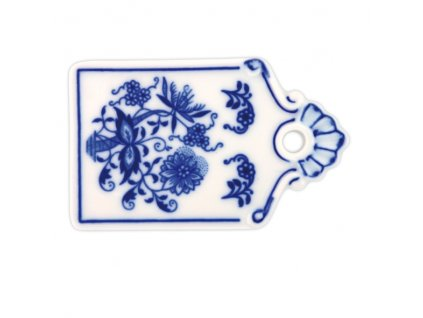 Podnos na chléb mini - cibulový porcelán 10217