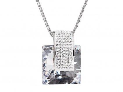 Přívěsek z chirurgické oceli Fantastique s českým křišťálem Preciosa - krystal