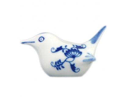 Ptáček 2 - malý - cibulový porcelán 10458