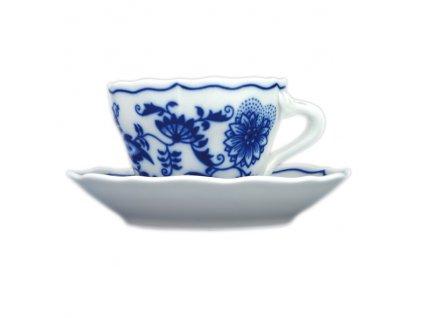 Šálek s podšálkem A+A - cibulový porcelán 70226