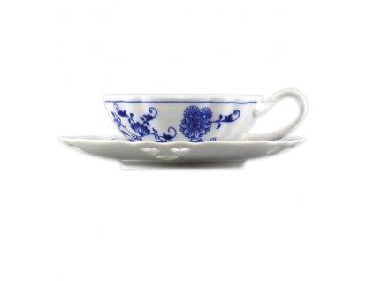 Šálek s podšálkem čaj ozdobné - cibulový porcelán 70603