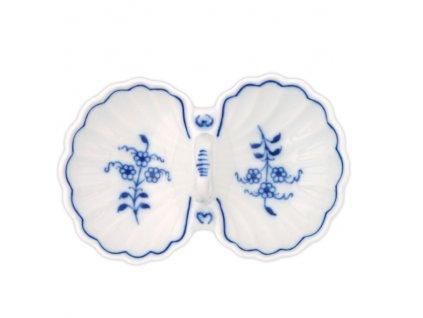 Slánka dvoudílná s úchytkou - cibulový porcelán 10115