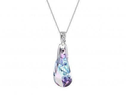 Stříbrný přívěsek Crystal Beauty s českým křišťálem Preciosa - kombi